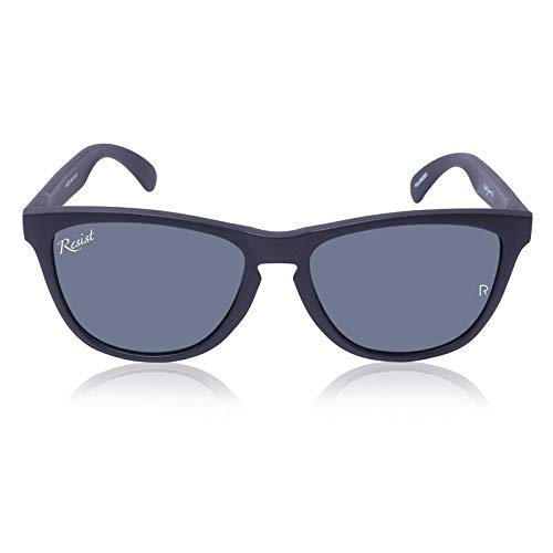 Resist Wayfarer Sunglasses - Unisex - Black Lens with 100
