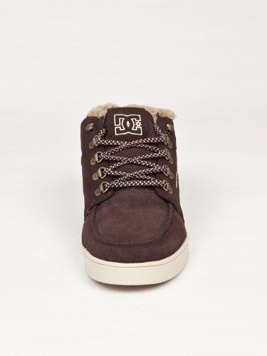 DC Shoes Relax MID WR H2 Zero Mens Shoe D0303300 - Zapatillas de deporte de cuero para hombre Marrón