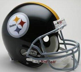 Pittsburgh Steelers Helmet Throwback (Riddell Pittsburgh Steelers 1963-1976 Authentic Throwback Helmet)
