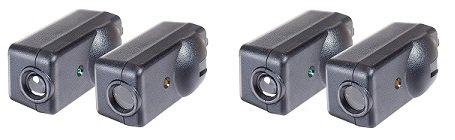 Chamberlain G801CB-P / LiftMaster / Craftsman Garage Door Opener Replacement Safety Sensors, Includes 2 Sensors, Mounting Brackets and Hardware (2-Pack)