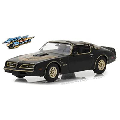 DIECAST 1:43 Hollywood - Smokey and The Bandit 1977-1977 Pontiac Firebird Trans AM 86513 by Greenlight: Toys & Games