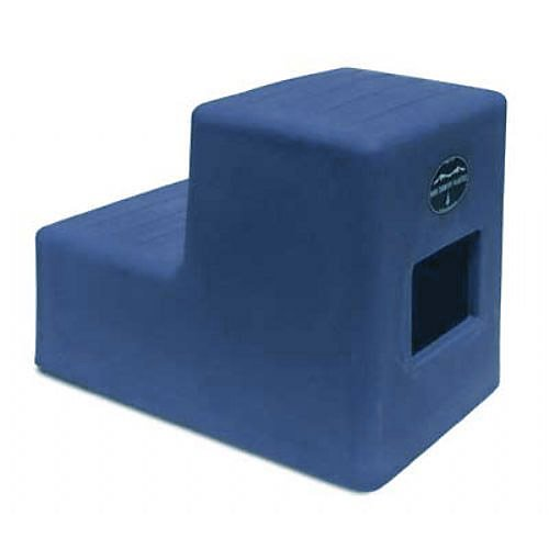 High Country 2-Step Mounting Block Blue by High Country Plastics