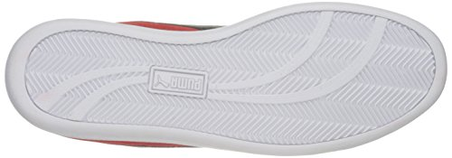 PUMA Puma Blast Red Sneaker SD Smash White Men's Fashion rvwBTr0