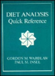 Diet Analysis Quick Reference by Gordon M. Wardlaw (1992-08-01)