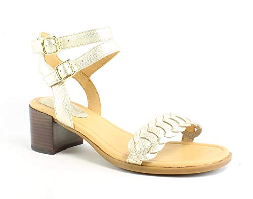 Sperry Top-Sider Gold Cup Vivianne Sandal Women 7 Platinum