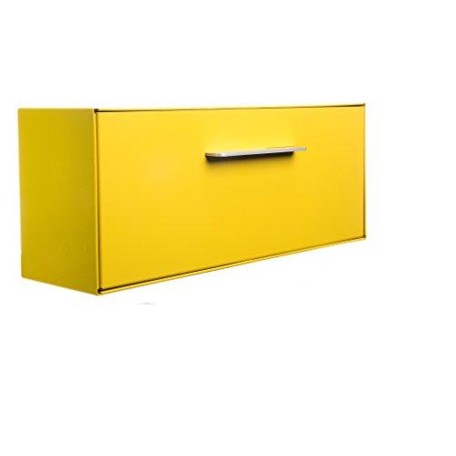 Mid Century Modern Doors (Modern Mailbox | Wall Mounted modbox (Yellow))