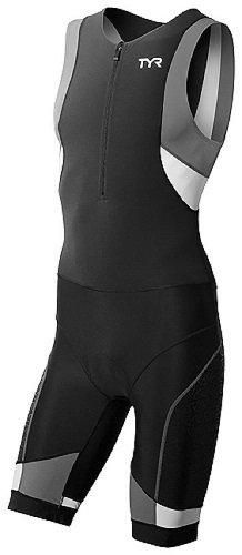 TYR Sport Mens Sport Competitor Trisuit with Front Zipper TCMSXP6A-P