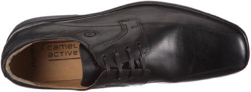 Camel Active Jeremy - Zapatos con cordones para hombre Negro