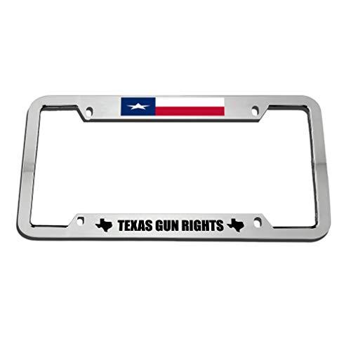 license plate frame pro gun - 1
