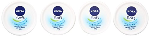 NIVEA Soft Moisturizing Creme 6.8 Ounce (Pack of 4)