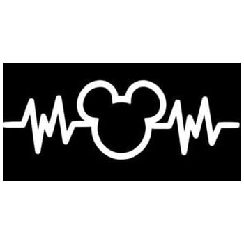 af8099cf443 Amazon.com  Crawford Graphix Mickey Mouse Heartbeat 6
