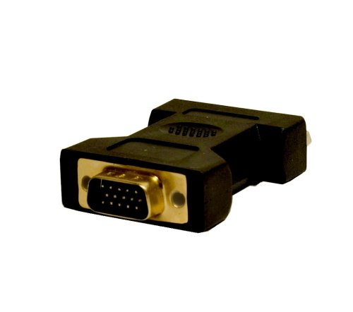 Syba SD-DVI-VGA DVI Female (24+5 pin) to VGA Male (15-pin) Connector