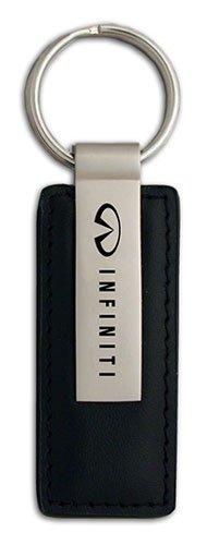 Infiniti Black Leather Keychain (Infiniti Emblem Gold compare prices)