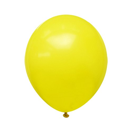 Neo LOONS 5 Standard Yellow Premium Latex Balloons -- Great for Kids , Adult Birthdays, Weddings , Receptions, Baby Showers, Water Fights, or Any Celebration, Pack of 100