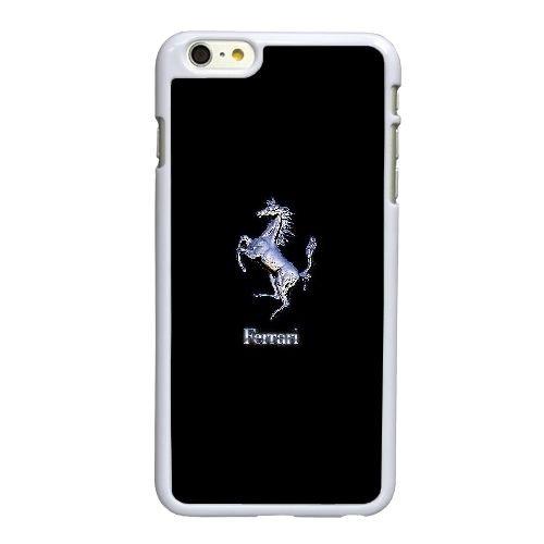 E8H45 logo F J5J4BR coque iPhone 6 Plus de 5,5 pouces cas de couverture de téléphone portable coque blanche KU6RWL7UU