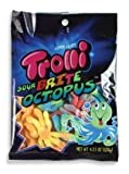 Trolli Sour Brite Octopus Gummi Candy - 4.25 Oz Bag