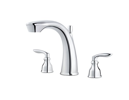 Pfister RT65-CB1C Avalon Roman Tub Trim, Polished Chrome (Tub Faucet Roman Avalon)