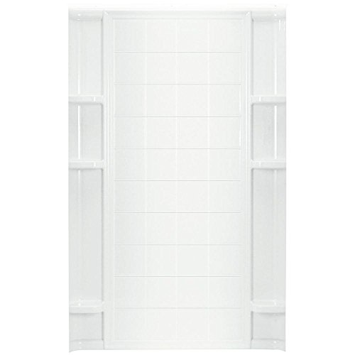 (STERLING China/Vikrell Ensemble Tile Alcove 48-Inch Shower Back Wall)