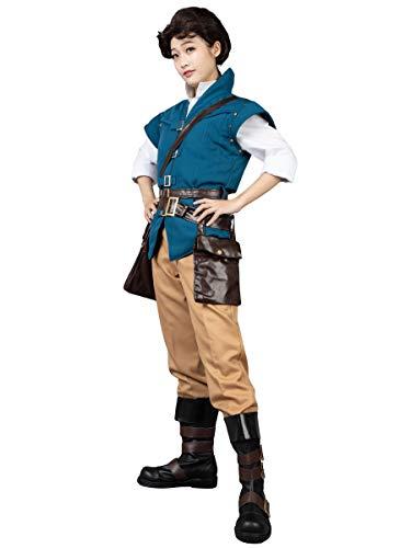 CosFantasy Best Flynn Rider Cosplay Costume mp001594 (XL(Bust: 39inch))