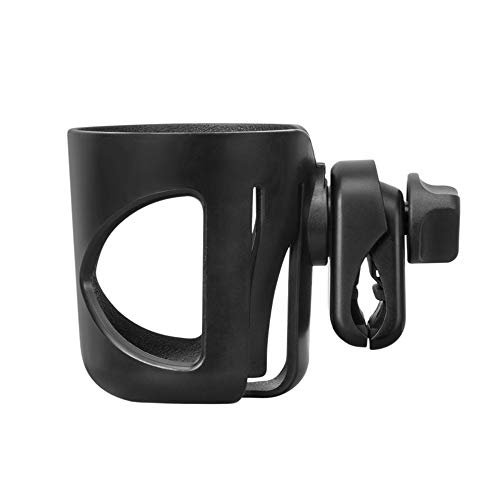 Universal Stroller Cup Holder, 360 Degrees Rotation Anti-Sli