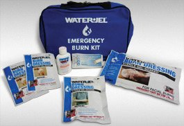 Water-Jel Technologies EBK1-6 Small Soft-Sided Burn Kit with Heavy Duty Nylon Carry Bag (6 Kits Per Case), English, 15.34 fl. oz., Plastic, 7.5 x 1 x 12.2
