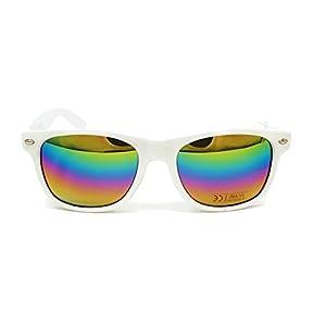 iceBoo® Sunglasses Mens Womens lightweight Plastic frame vintage style unisex classic