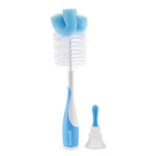 Munchkin Sponge Bottle Brush, Blue