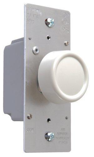 Pass & Seymour R600PLAV 600-watt Preset Dimmer Rfi Protected Single Pole Easy Install Light, Almond by Pass & Seymour