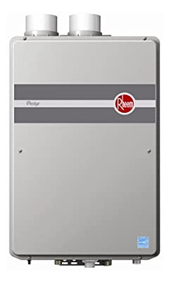 Rheem RTGH-84DVLP Indoor Direct Vent Liquid Propane Condensing Tankless Water Heater Low Nox