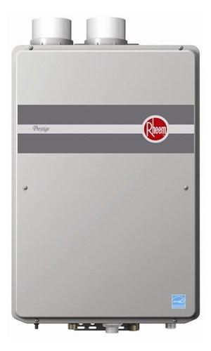 Rheem RTGH-84DVLP Indoor Direct Vent Liquid Propane Condensing Tankless Water Heater Low Nox Built In Liquid Propane Heater