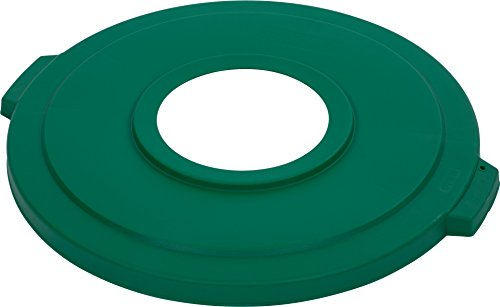 Carlisle 341033REC09 Bronco LLDPE Recycle Lid with Hole, 24-1/4 x 2.13
