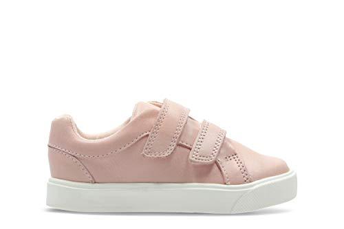 Rosa City Niños Para Clarks pink T Oasislo Zapatillas 4dYfw