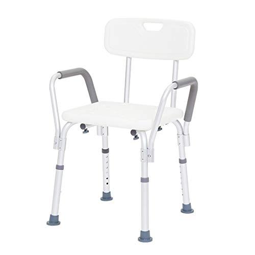 Standard Walkers Walker Senior Bathing Chair Shower Bench Bath Chair Child Walker Cerebral Palsy Pediatric Walker Paralysis Lower Limb Rehabilitation Trainer (Color : White, Size : 465770cm)