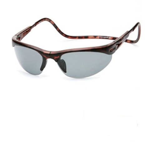 Clic Sunglasses - Clic Sunglass II / Frame: Tortoise Lens: Grey Polarized or Brilliant Blue - Clic Sunglasses