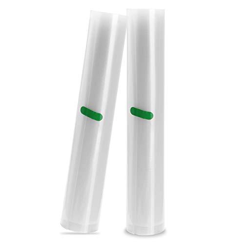 Sweet Alice Vacuum Sealer Bag Rolls 2 Pack Reusable Bags Sealed Packing for Food Saver Storage No BPA, FDA Approved