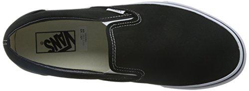 Vans Classic Slip On - Zapatillas para hombre Negro (Schwarz (Black))