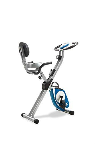 XTERRA FB350 Folding Exercise Bike, Silver