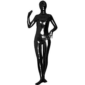 Unisex Shiny Spandex Skin-tight Zentai Costume 31AgtgXyZCL