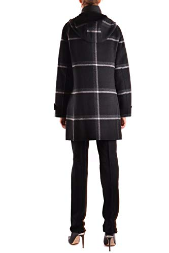 Nero Donna Woolrich Wwcps2618df061564 Cappotto Lana 0q07pC