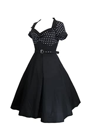Amazon.com: Skelapparel 60's Vintage Retro Design Polka