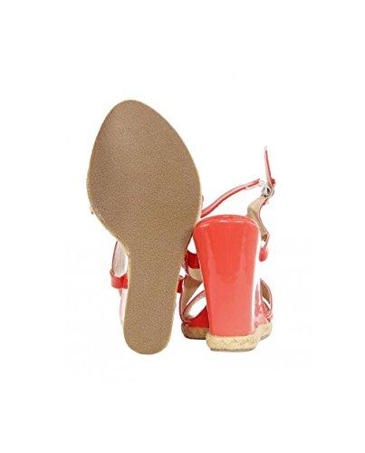 Coral pour B039031 Femme B7200 Urban Sandales XSwxTvqUq