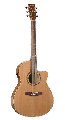 Simon & Patrick Cutaway GT Folk Acoustic Electric Guitar - Cedar A3T