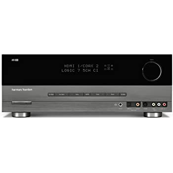 Harman Kardon AVR-154 5x30W 5 1-Channel Home Theater Receiver (Discontinued  by Manufacturer)