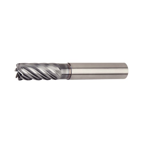 Straight Shank 7-Flute WIDIA Hanita 77NE16006T VariMill III ER 77NE HP End Mill RH Cut AlTiN Coating 16 mm Shank Diameter 16 mm Cutting Diameter Carbide