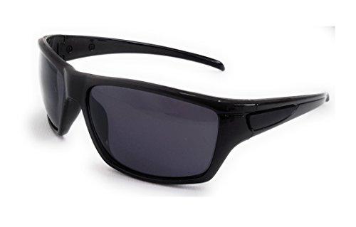 CE Europea Solar Mujer Certificación Negro Gafas Negra Montura Hombre de Sol Negros Lentes Protección Deportivas Rayos Unisex UV UnH74nWP
