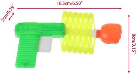 Ogquaton Juguete de Truco de Pistola de Tirador de pu/ño retr/áctil 3PCS Color Aleatorio 1PC Elegante y Popular 1 pu/ño telesc/ópico el/ástico cl/ásico para ni/ños