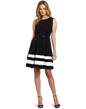 Calvin Klein Women's Fit N Flare Dress
