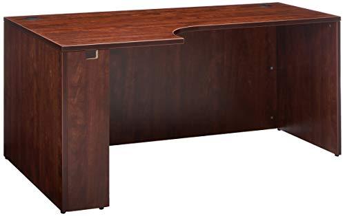 Lorell LLR69911 Pedestal Desk Shell, Cherry