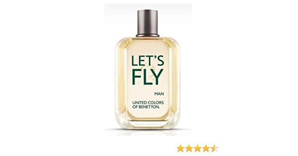 Amazon.com : BENETTON LETS FLY by Benetton for MEN: EDT SPRAY 3.4 OZ : Beauty