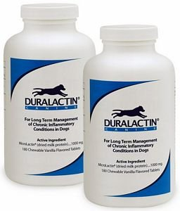 2PACK Duralactin Canine 1000 mg (360 Tablets)